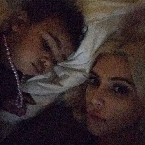Bebés famosos, Kim Kardashian