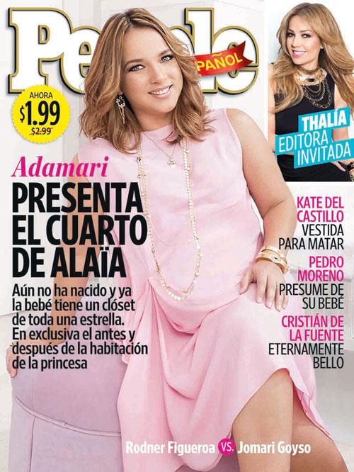 Adamari López, portada marzo, 2015, portadas