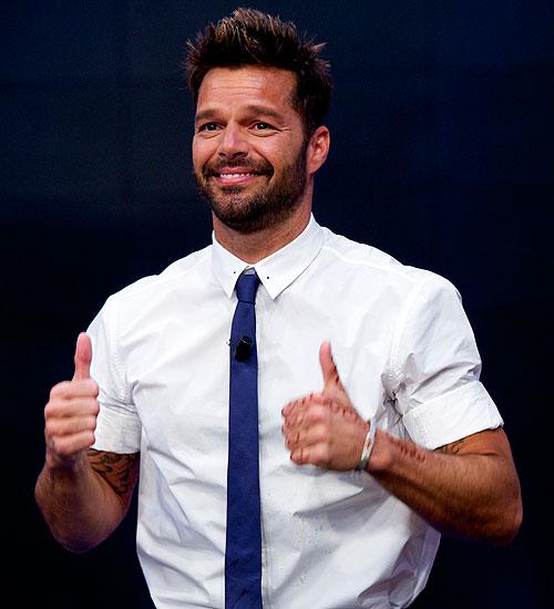 Secretos de felicidad, Ricky Martin