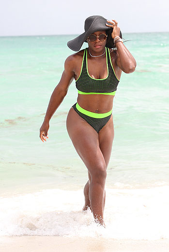 Bikinazos primaverales, Serena Williams