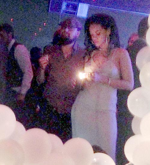 Rihanna, Leonardo DiCaprio, Míralos