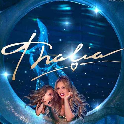 Bebes famosos en Instagram, Thalía