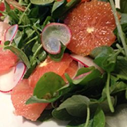 Ensalada de espinacas y cítricos