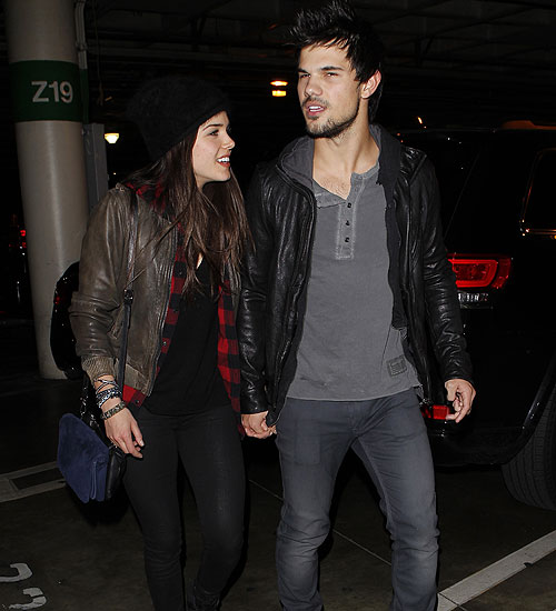 Rupturas, TAYLOR LAUTNER, MARIE AVGEROPOULOS