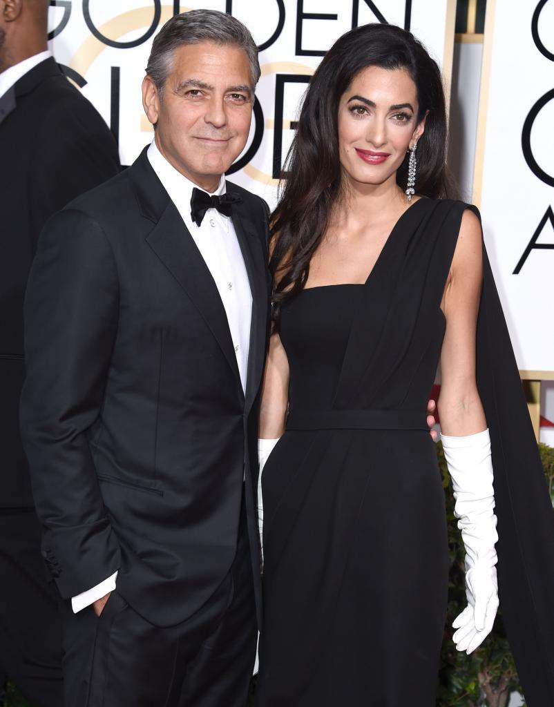 George Clooney y Amal Alamuddin Clooney