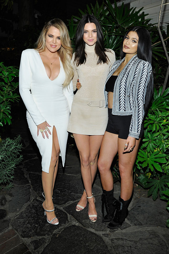 Khloé Kardashian, Kendall Jenner, Kylie Jenner, Míralos