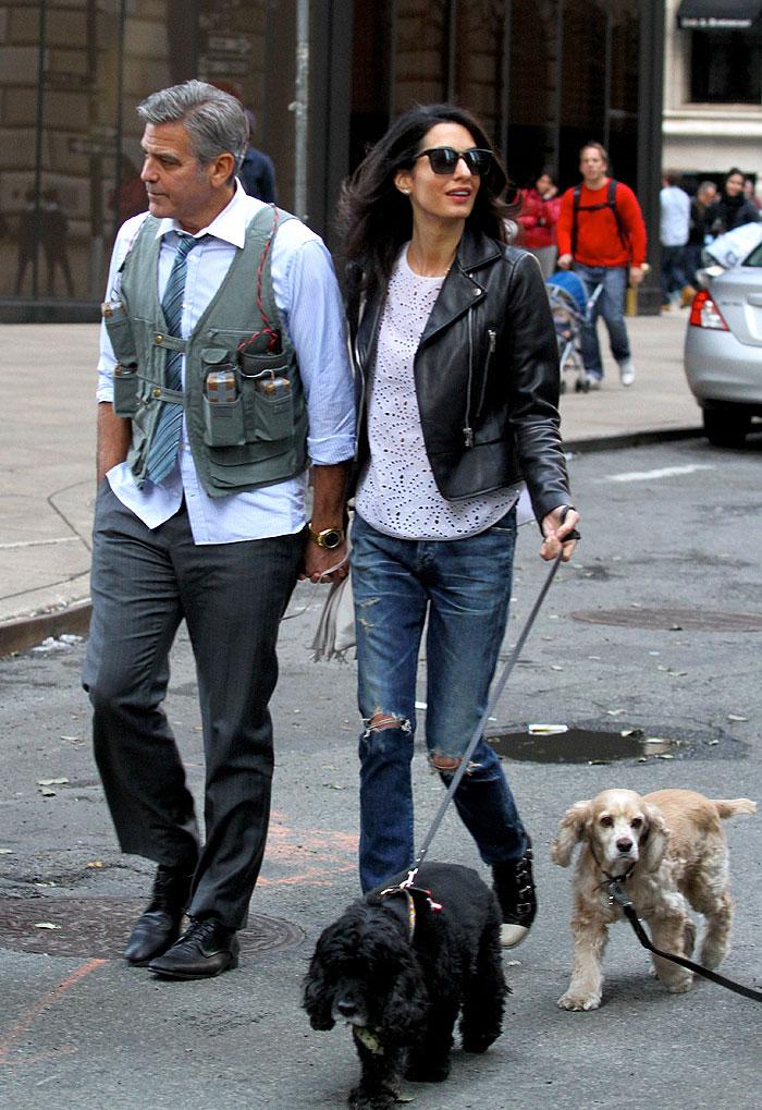 George Clooney, Amal Clooney, Míralos
