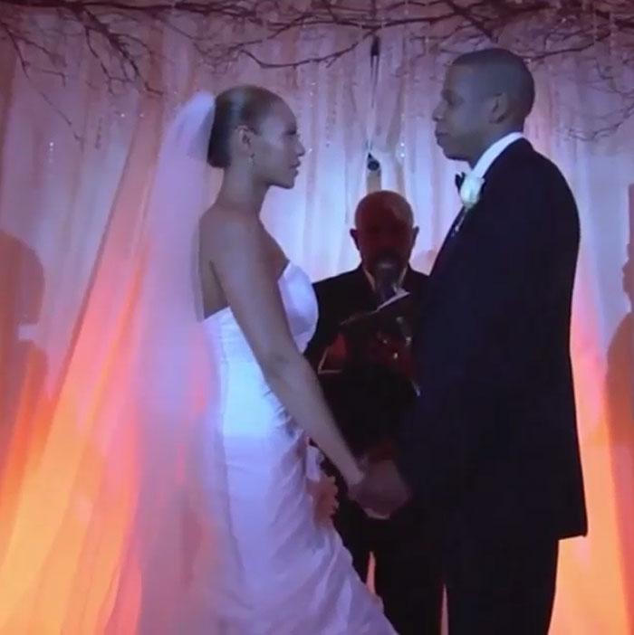 Beyoncé, Jay Z, boda, video, Instagram