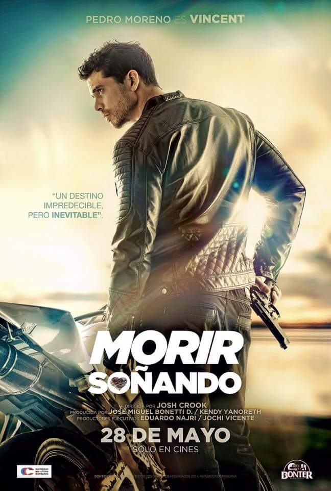 Pedro Moreno en Morir Soñando