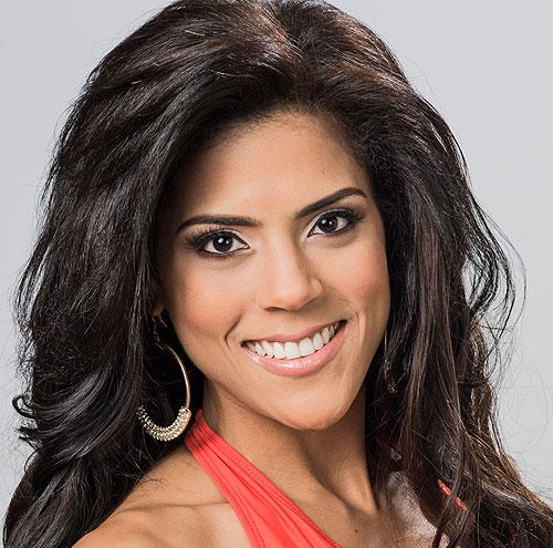 Francisca Lachapel, Nuestra belleza latina