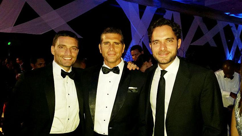 Julian Gil, Cristian Meier, Manolo Cardona, Míralos
