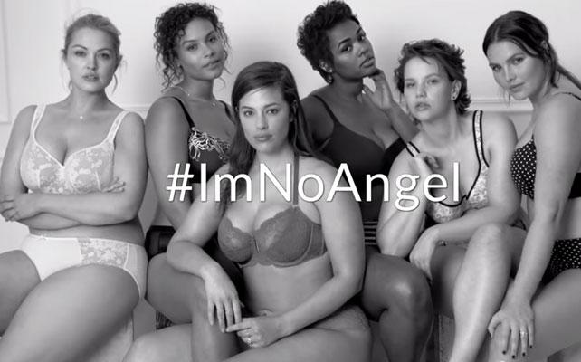 Modelos de la campaña #ImNoAngel