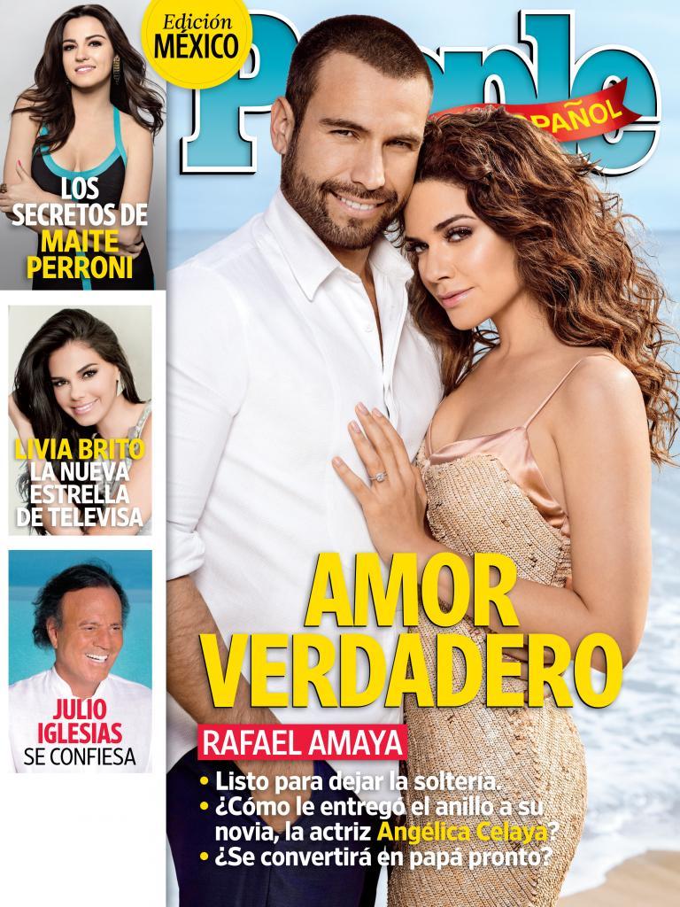 Rafael Amaya y Angelica Celaya