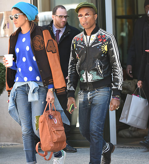Pharrell Williams, Helen Lasichanh, Míralos