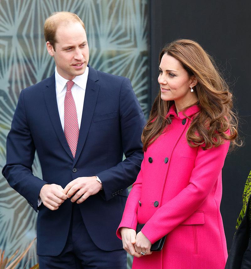 William, Kate, encinta