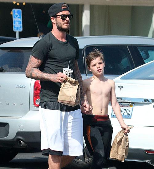 David Beckham, Cruz, Míralos