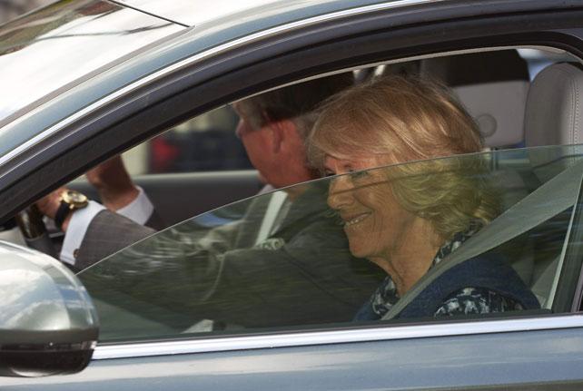 príncipe Carlos y su esposa Camilla para artículo