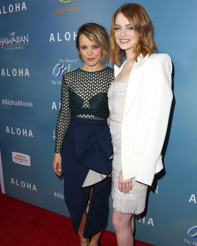 Miralos, Emma Stone, Rachel McAdams
