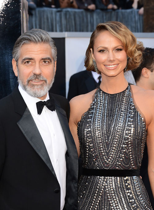 Stacy Keibler, George Clooney, exnovias Clooney