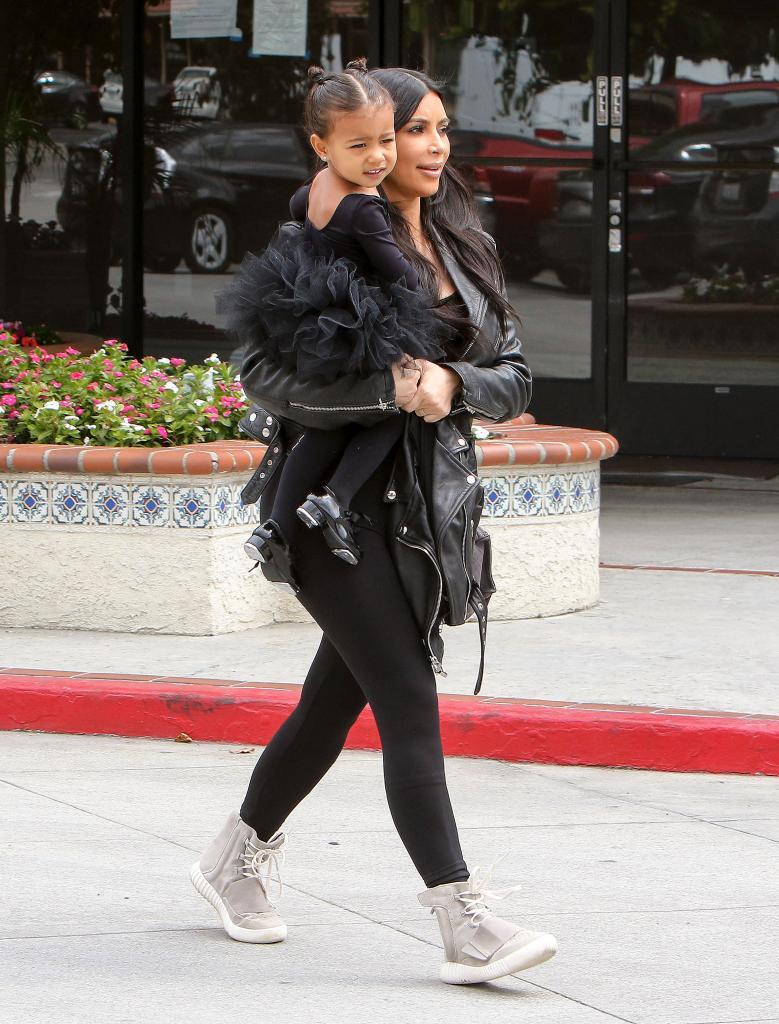 Míralos, Kim Kardashian, North West