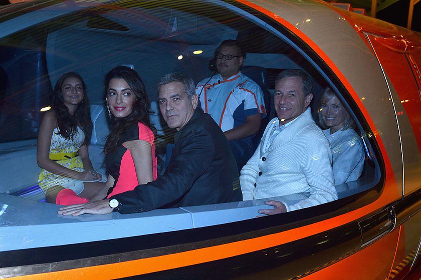 Amal Cloonet, George Clooney, Míralos