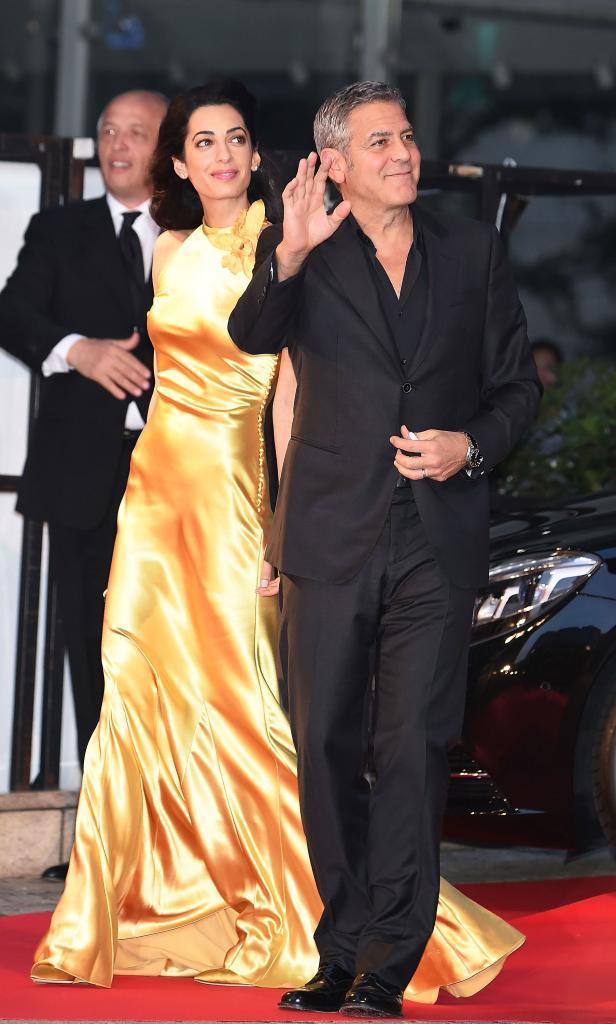 Miralos, George Clooney, Amal Clooney