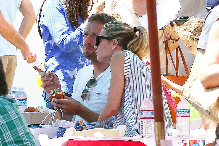 Chris Martin, Gwyneth Paltrow, Míralos