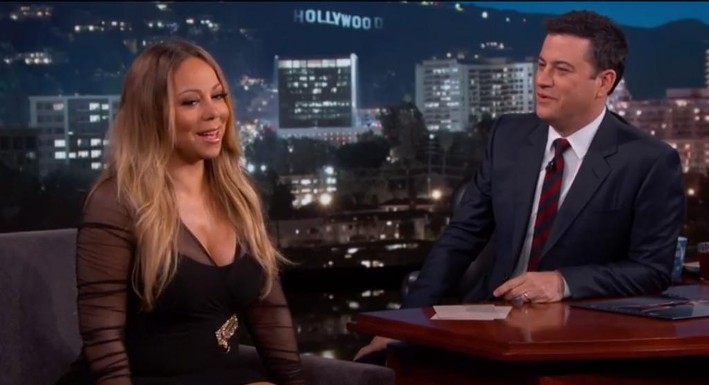 Mariah Carey, Jimmy Kimmel