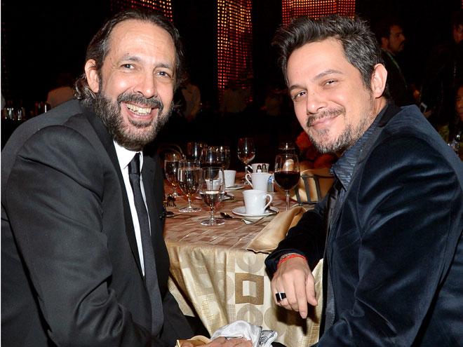 Juan Luis Guerra y Alejandro Sanz