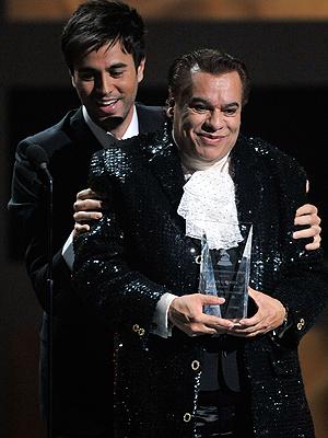 Juan Gabriel y Enrique Iglesias