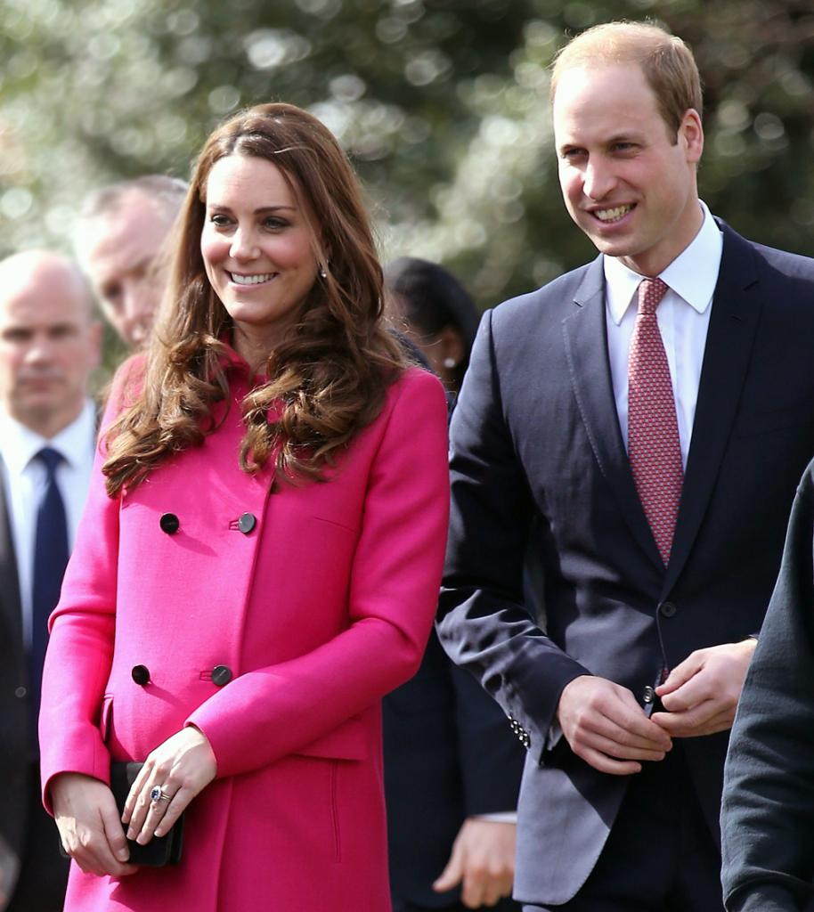 Kate Middleton y principe William