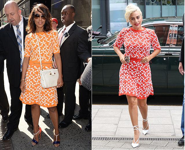 Dos mujeres un vestido kerry washington lady gaga