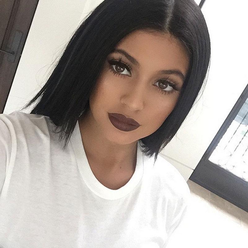 Kylie Jenner, Instagram, labios