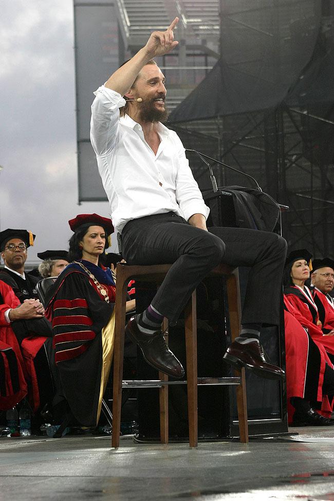 Matthew McConaughey, Míralos