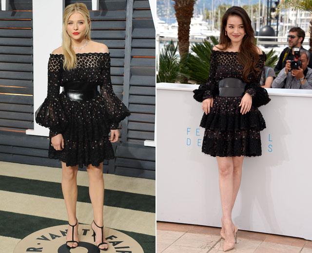 Dos mujeres un vestido, Chloë Grace Moretz, Shu Qi