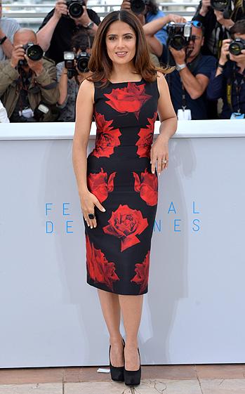 Cannes, Salma Hayek