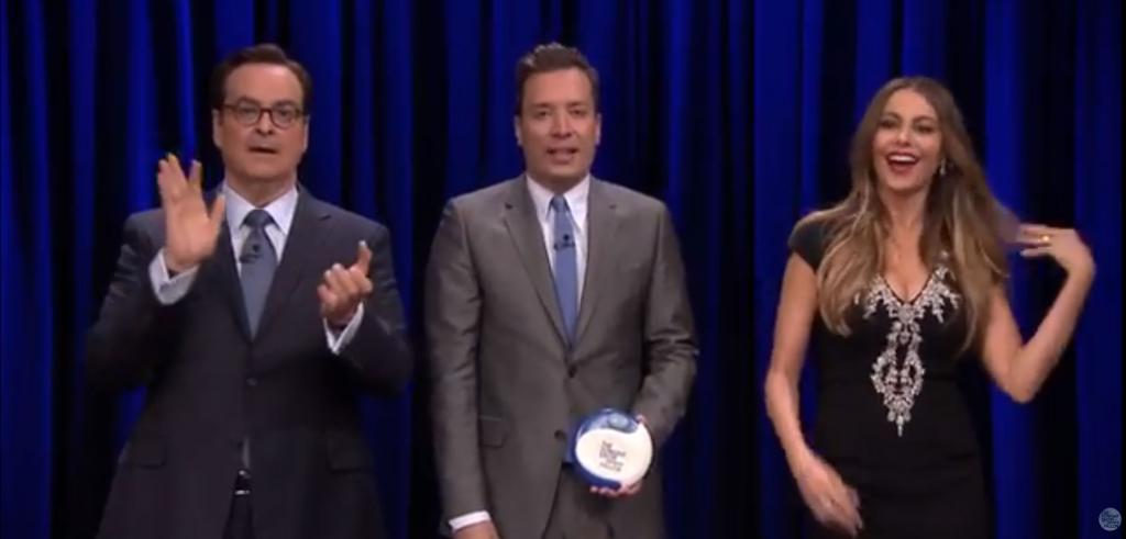 Steve Higgins, Jimmy Fallon, Sofía Vergara