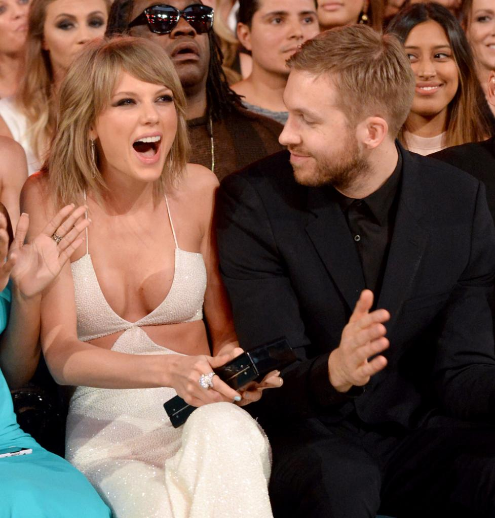 Taylor Swift, y Calvin Harris