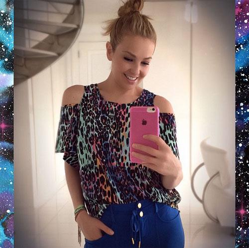 Thalía, Instagram