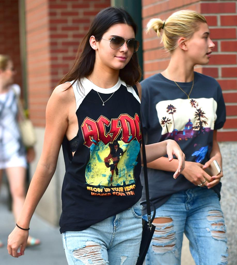 Kendall Jenner, y Hailey Baldwin
