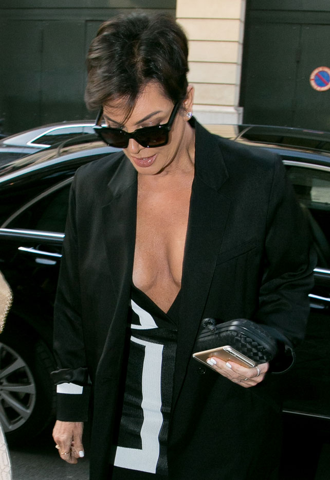 Kris Jenner para artículo