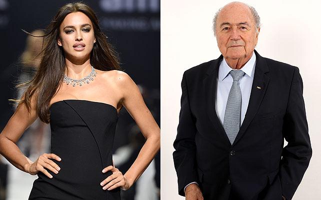 Irina Shayk, Joseph Blatter
