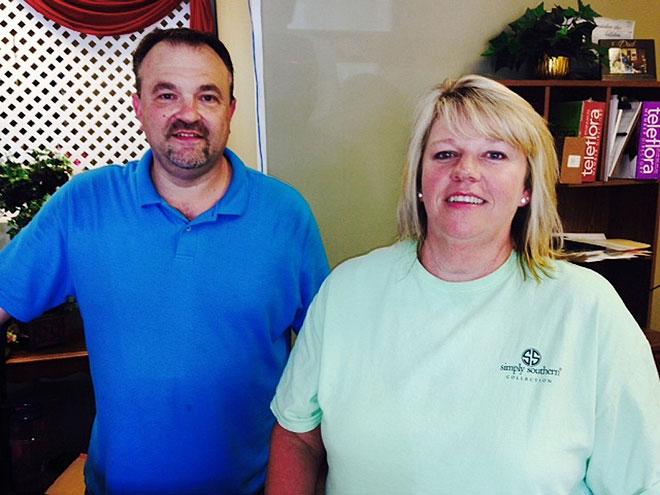 Todd Frady, Debbie Dills,