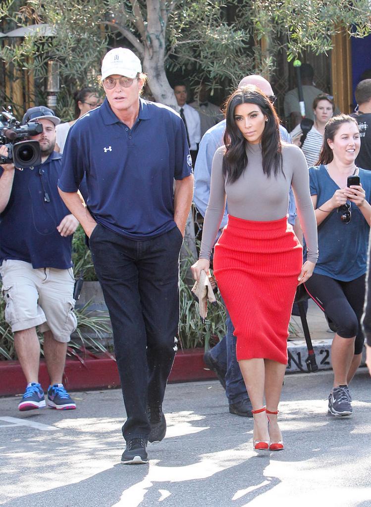 Kim Kardashian, Bruce Jenner