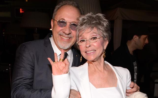 Emilio Estefan y Rita Moreno