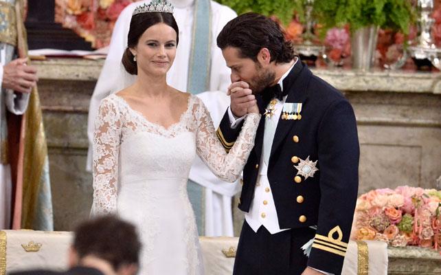Príncipe Carl Philip y princesa Sofía