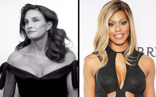 Caitlyn Jenner y Laverne Cox para artículo