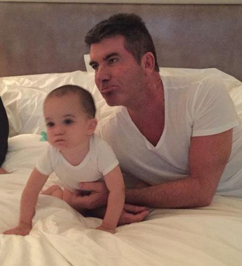 Simon Cowell, Eric, día de los padres