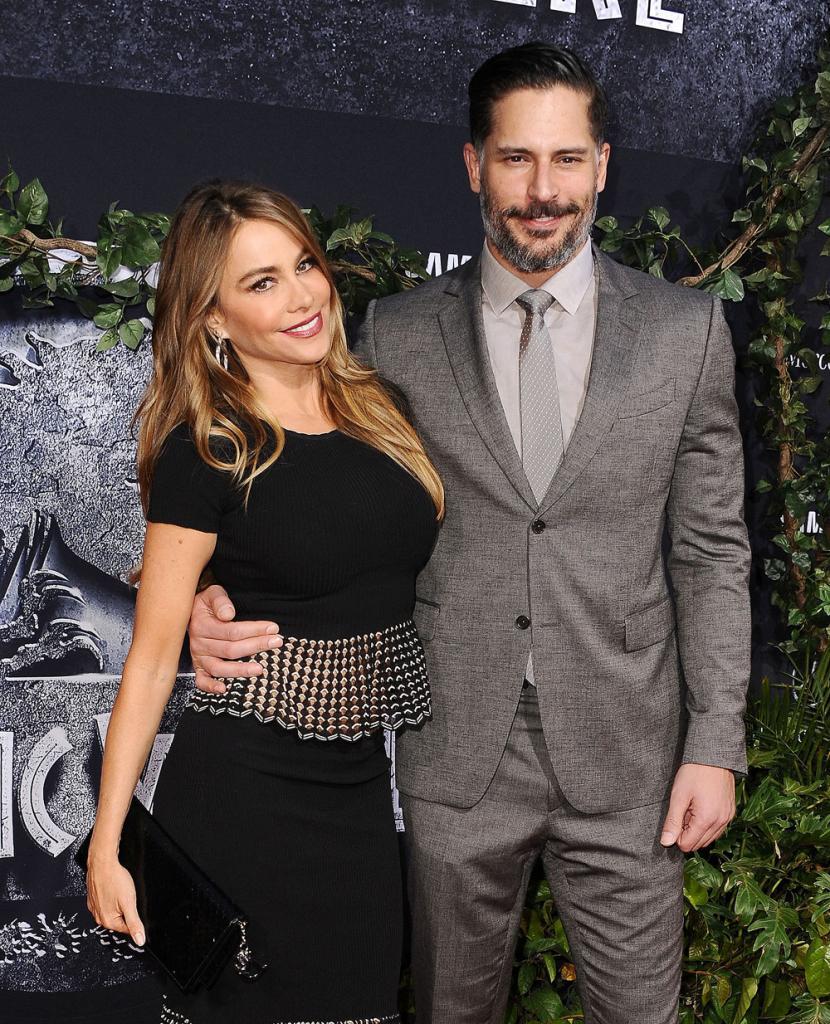 Joe Manganiello y Sofía para artículo