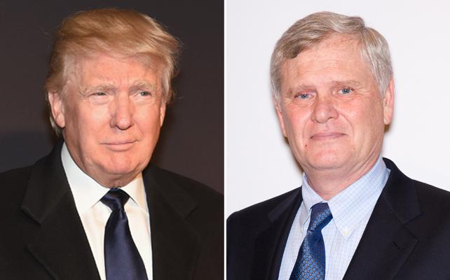 Donald Trump y Randy Falco